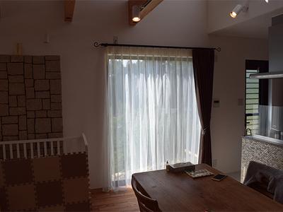 京都市右京区 オーダーカーテン(川島織物セルコン)のサムネイル