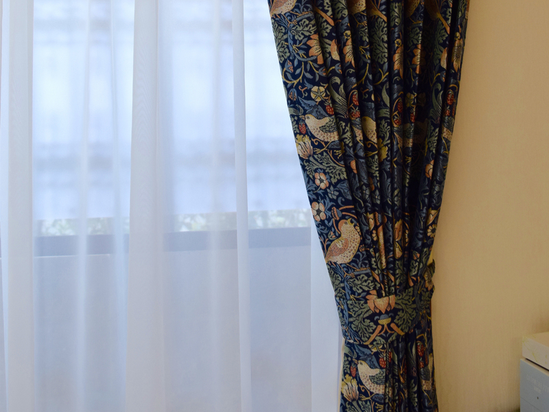 京都市上京区 オーダーカーテン(ウィリアムモリス)のサムネイル